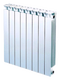 Секционный биметаллический радиатор Global Style 350, 1 секция