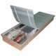 Внутрипольные конвекторы EVA COIL - KT80
