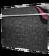"""Полотенцесушитель электрический стеклянный """"Теплолюкс"""" Laguna 60x50 (черный узор)"""