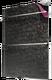 """Полотенцесушитель электрический стеклянный """"Теплолюкс"""" Laguna 60x90 (черный узор)"""