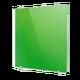 Стеклянный дизайн-радиатор Теплолюкс FLORA Зеленый