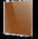 Стеклянный дизайн-радиатор Теплолюкс FLORA Коричневый