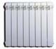 Секционный биметаллический радиатор Global Style Plus 350, 1 секция