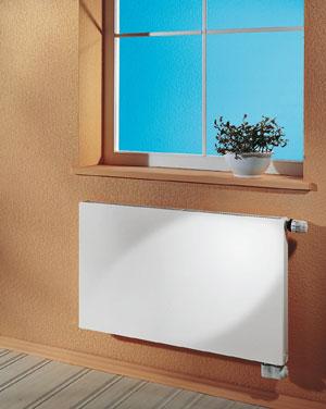 Стальные радиаторы RADIK VK - радиаторы нового поколения со встроенным разводом и вентильным терморегулятором.